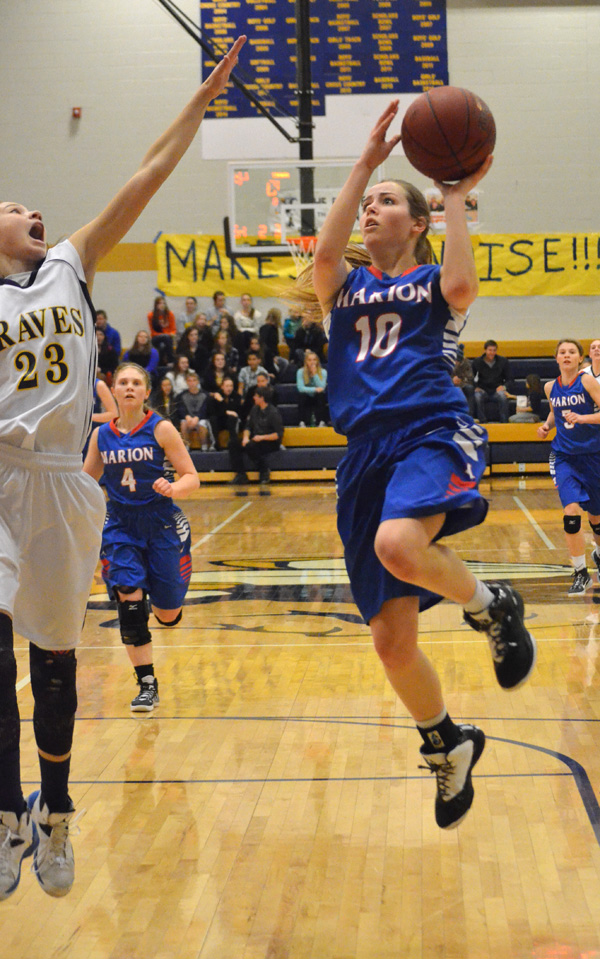 Marion girls lose, boys win at Council Grove