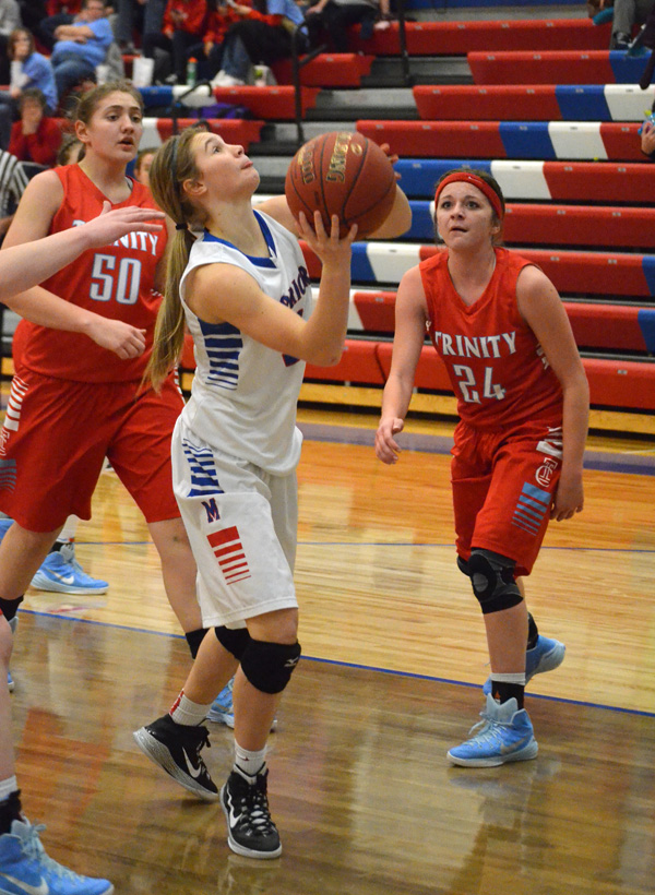 Marion loses two to Hutch Trinity