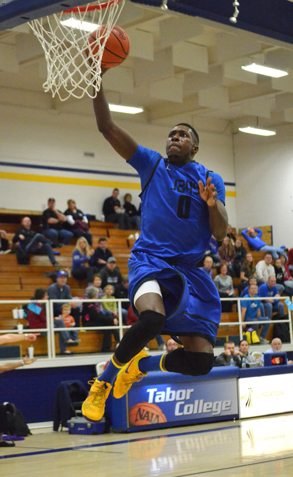 Bluejay men split games in Tabor Classic