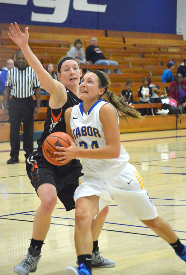 Tabor women drop first two games of 2015