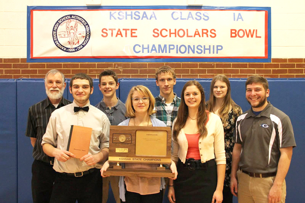 Smarts and resilience / Goessel High School wins the Class 1A Scholars Bowl state championship