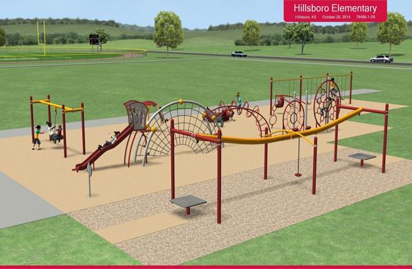 Playground drive nearing school?s budget target