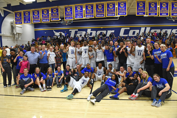 Double take: Tabor snags KCAC titles