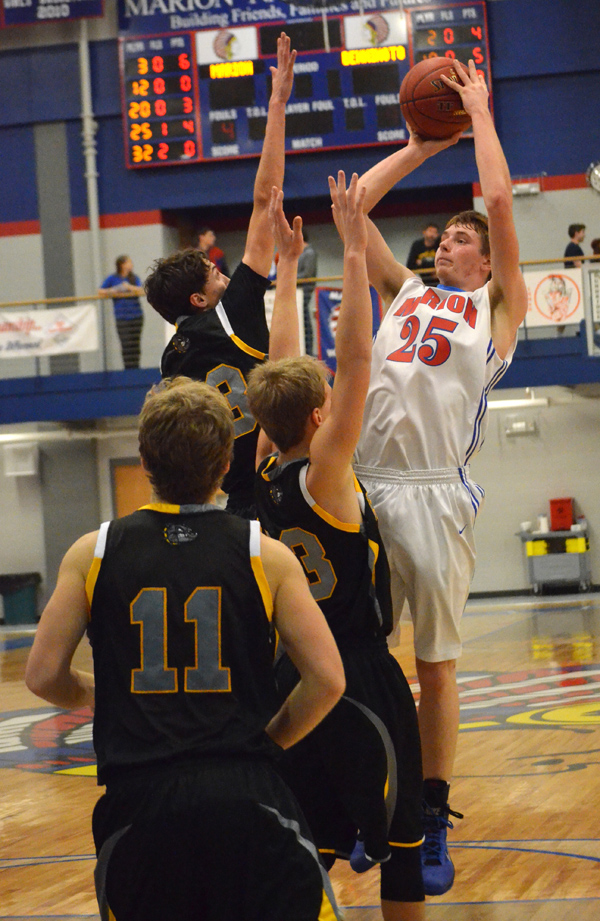 Marion boys lose to Bennington, defeat Remington