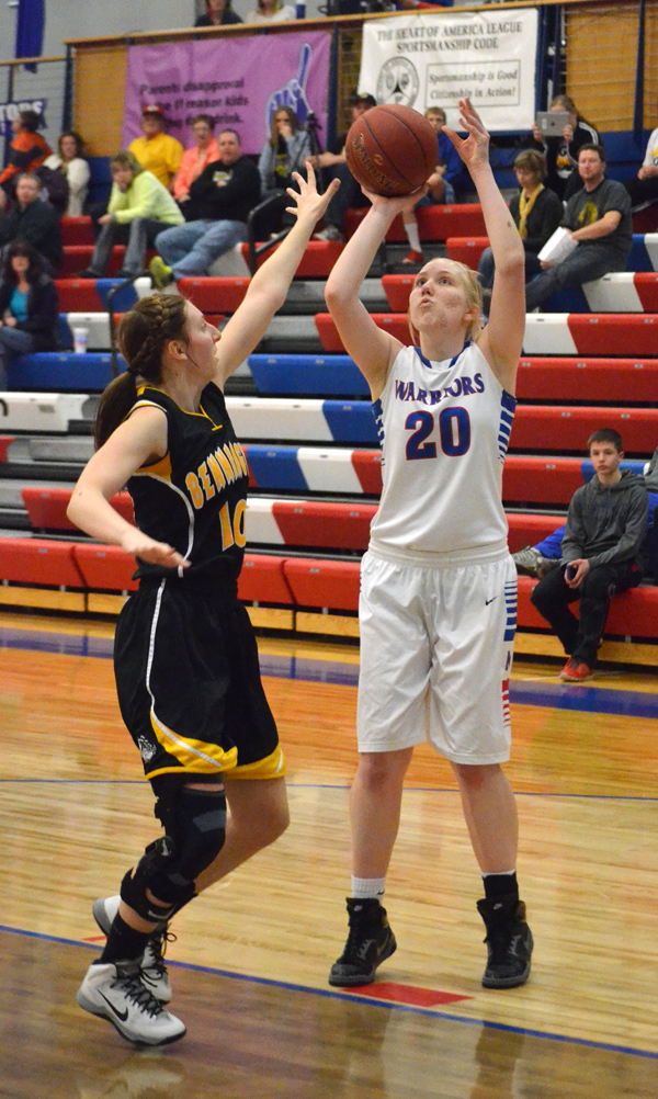 Warrior girls suffer 2-loss week