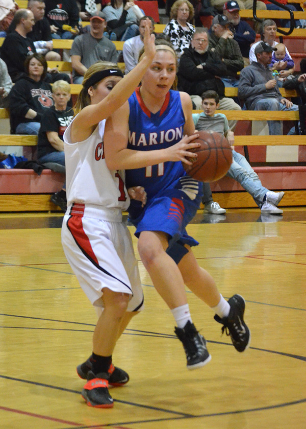 Marion loses two in regular season finale at Sedgwick