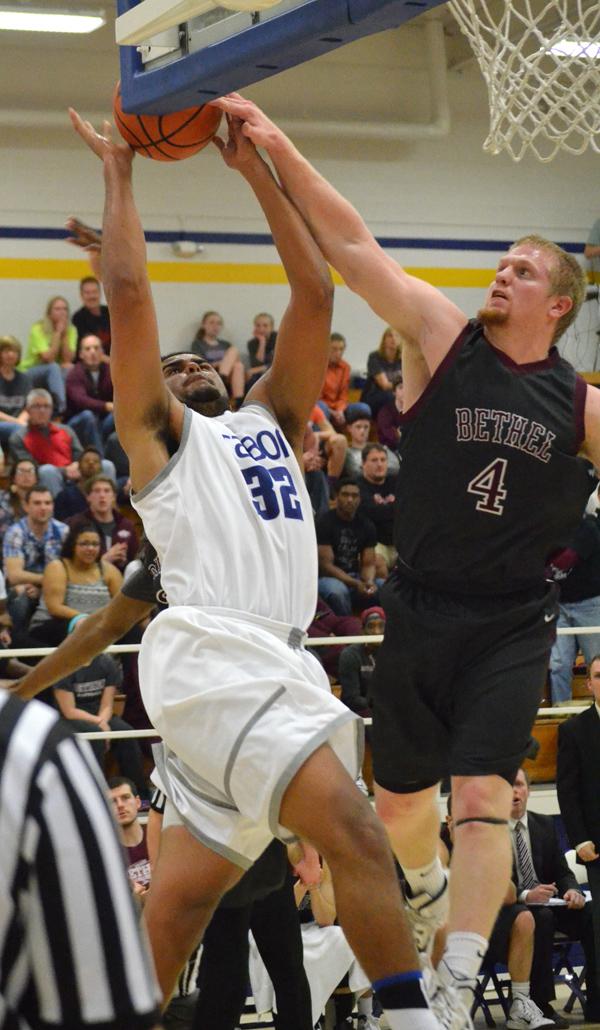 Jays roll past Bethel, McPherson