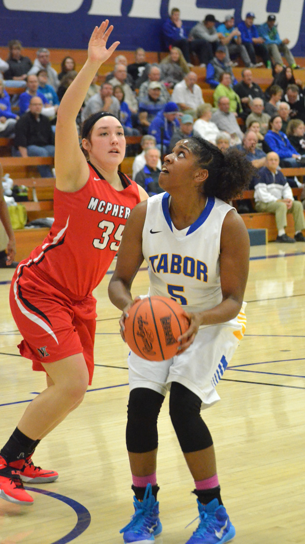 Tabor takes two from McPherson