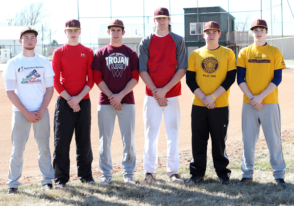 Trojan baseball returns three all-state players