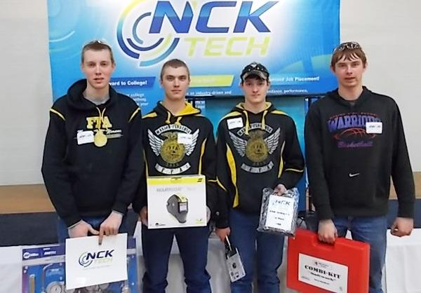 MHS wins welding contest