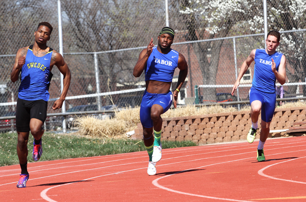 Tabor track competes at Sterling
