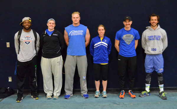 Seniors set pace for TC track