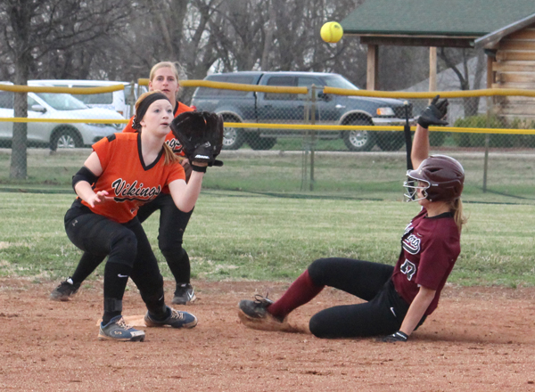 Trojan softball sweeps Smoky Valley in season opener