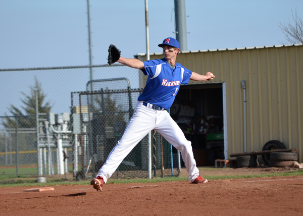 Warrior baseball sweeps Bulldogs