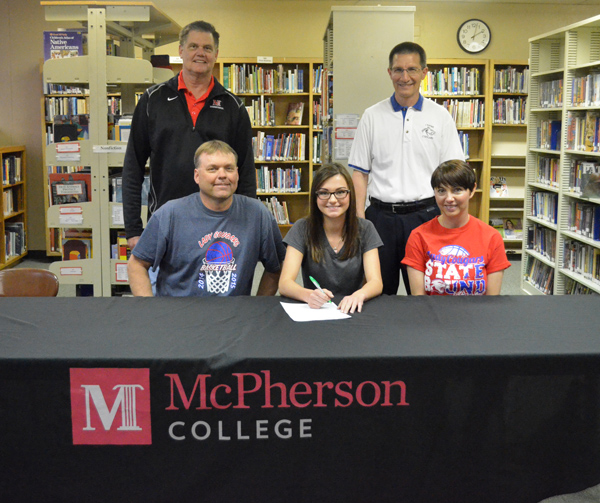 Makovec signs for McPherson hoops