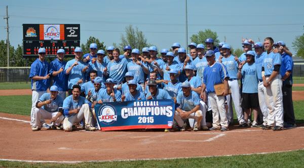 Tabor baseball claims KCAC tournament title with 12-7 win over Kansas Wesleyan