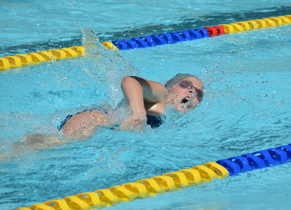 Hillsboro, Peabody swimmers compete at Lindsborg