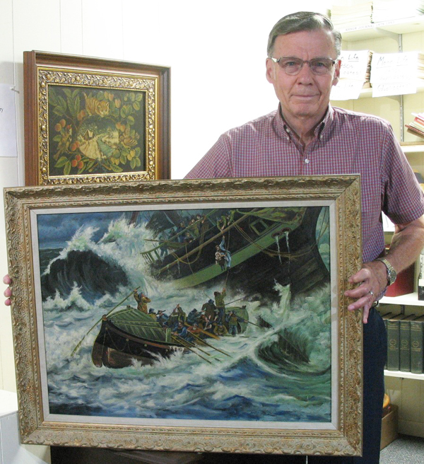 Kym family donates painting to Goessel museum