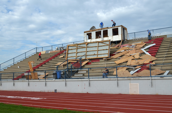 Warrior Stadium to get new press box