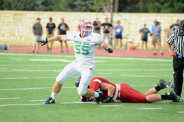 Palic competes in 42nd Shrine Bowl