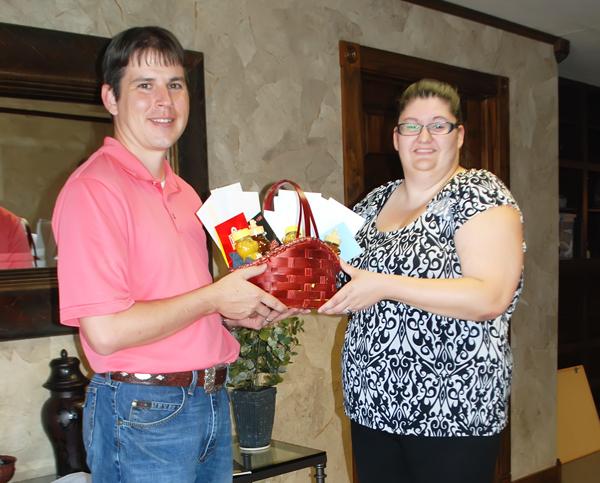 CVB presents two gift baskets