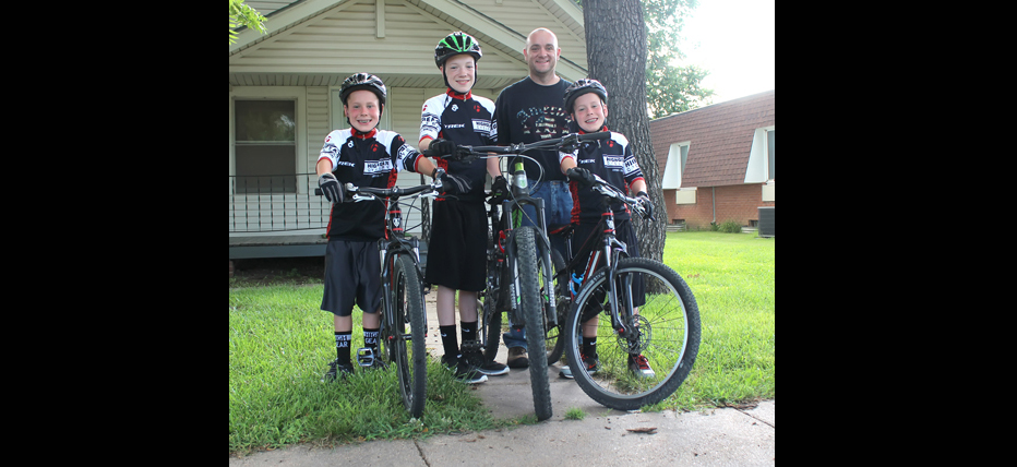 Local boys pedaling for fitness, fun and family