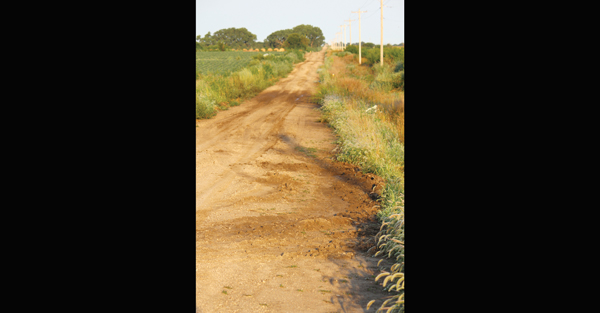 This dirt road north of Hillsboro shows the residual damage caused by ?mudders? following rain that fell almost two weeks ago. Randy Crawford, the county?s road and bridge director, is asking the public to call the sheriff?s office when they observe ongoing abuse to see if more violators can be caught. Don Ratzlaff / Free Press