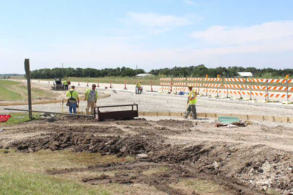Safety-related projects progress as the start of school approaches