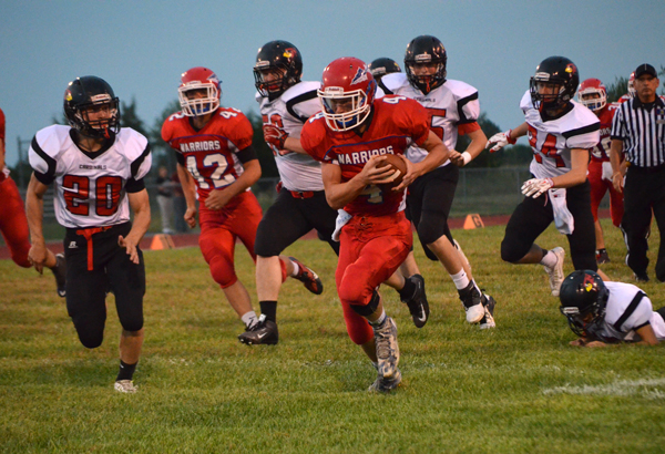 Marion rolls past Ell-Saline on homecoming night