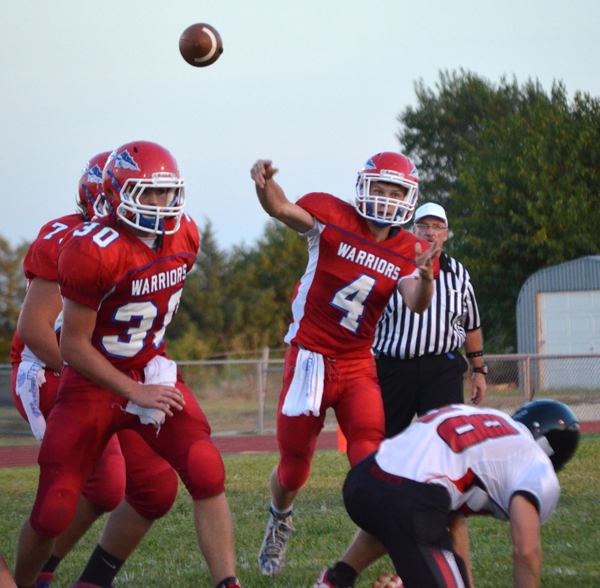 Marion wins season-opener against Moundridge