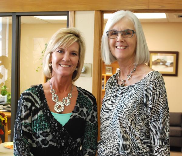 Daughter succeeds mother as bank president