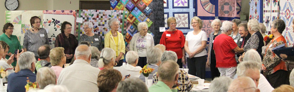 County seniors recognize quilters and servants
