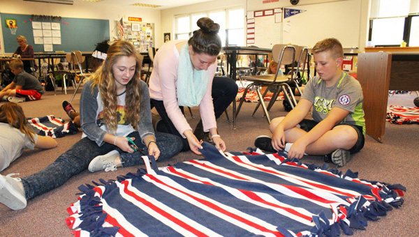 HMS club takes on project for senior veterans