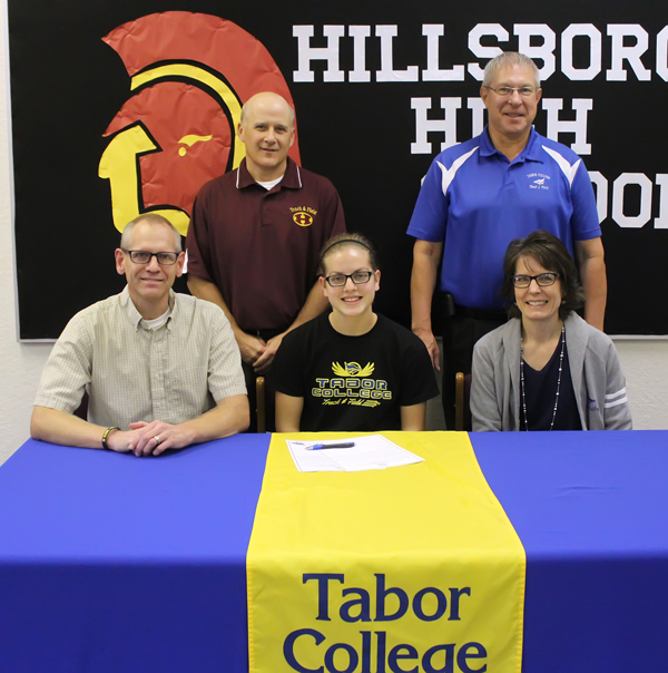 Franz signs for Tabor track & field