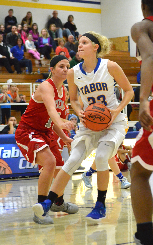 Tabor keeps KCAC win streak intact with sweep of Friends