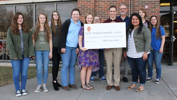 HHS Leos raise $1,650 for Marion County Project SEARCH program