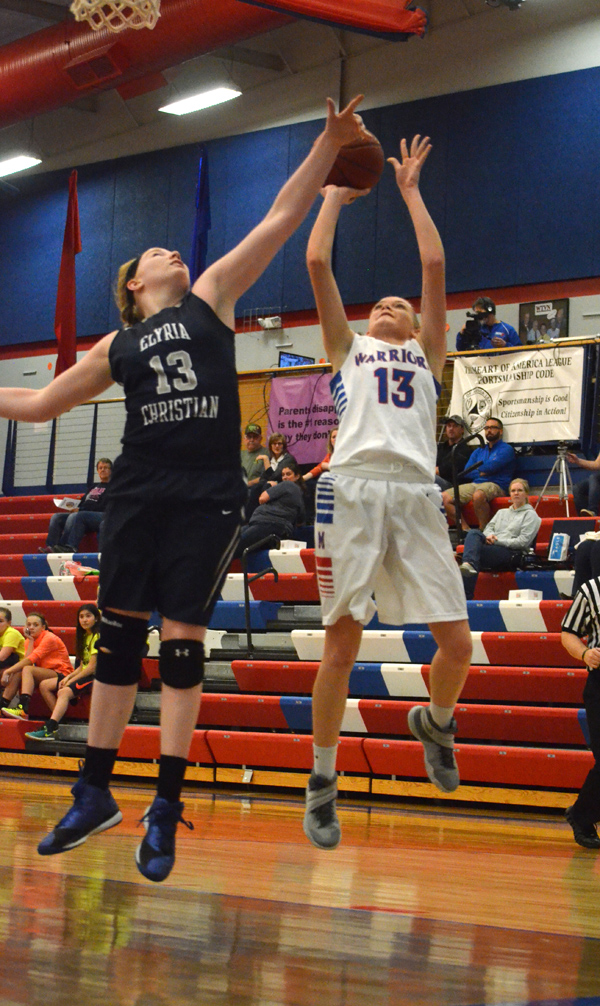 Marion girls earn two victories