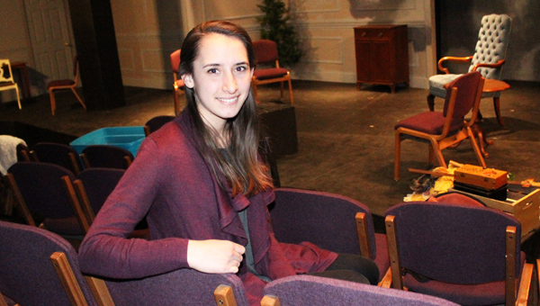 Student hopes love for acting becomes tool for service