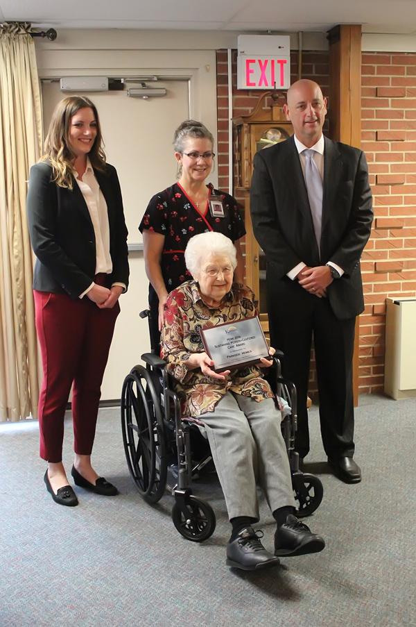 Parkside Homes receives PEAK Award for service