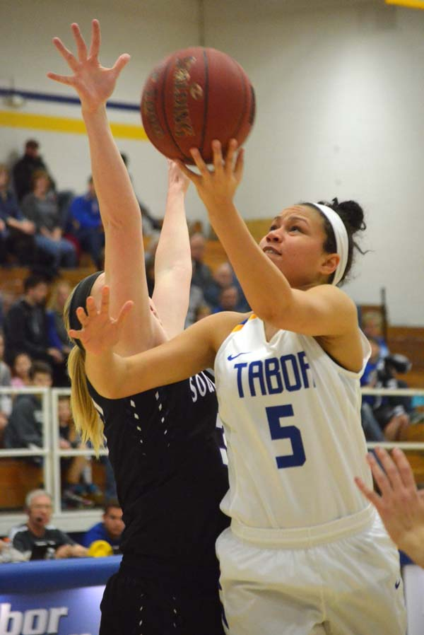 Solid defense propels Tabor women past Southwestern, 65-45