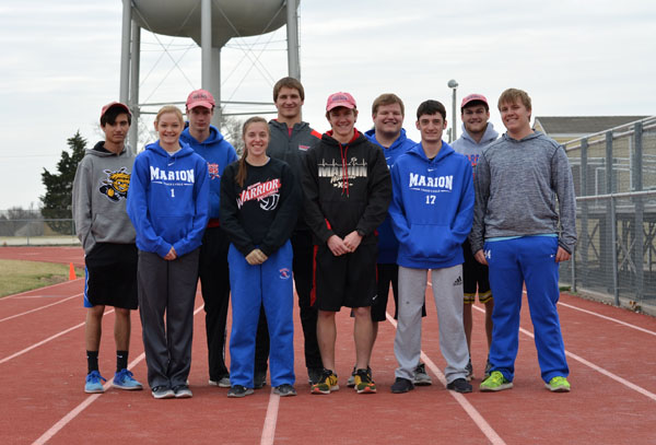 MHS track aims for state