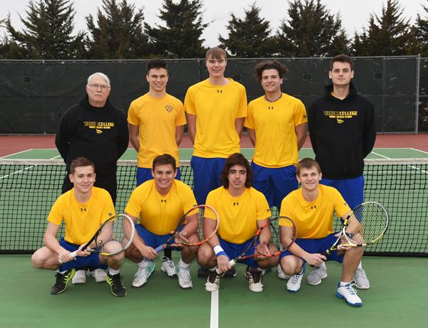 Bluejay men's tennis team returns top of lineup