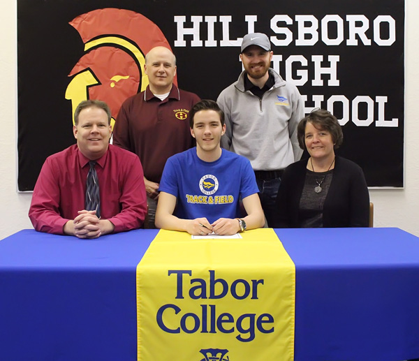 Hinerman to run for Tabor College