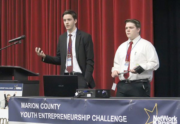 Hillsboro High students receive $1,500 prize at state contest