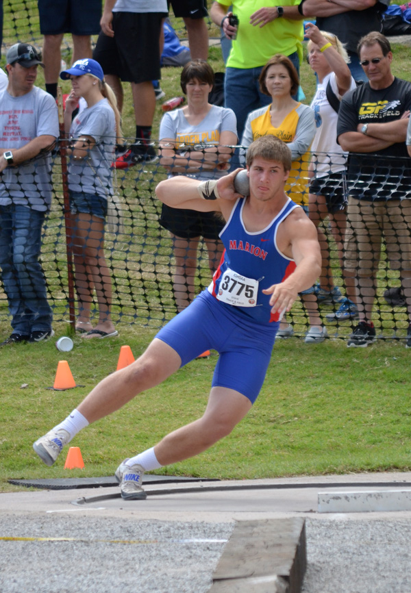 Palic named 3A discus champion, one of three top-three Warrior performances at state