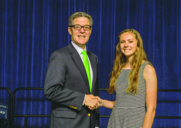 Hillsboro's Kaufman feted with other top high school seniors