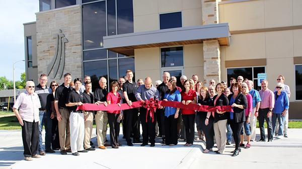 MB Foundation cuts ribbon on new facility