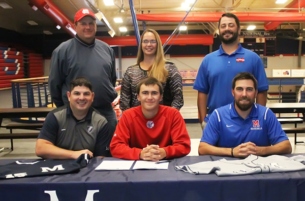 Marion's Seth Savage signs to play baseball for Manhattan Christian