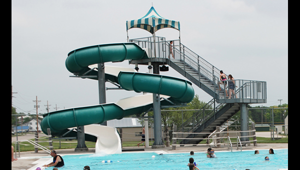 "The ""big slide"" at the Hillsboro Family Aquatic Center will be closed until further notice."