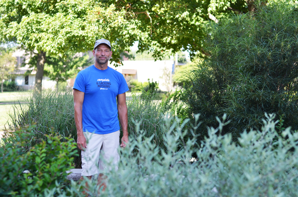 Landscaping effort turns college campus into an oasis of beauty